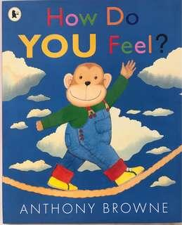 """🚚 PL """"How do you Feel?"""" - Anthony Browne"""