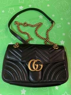 Authentic gucci bag85%new,good conditions as pic,size 25*15*5cm