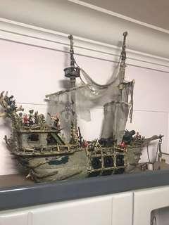 Pirates Of The Caribbean 3 Dutchman Ship