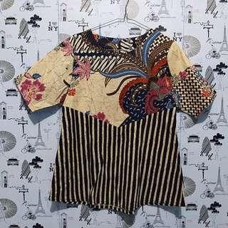 Batik lurik blouse