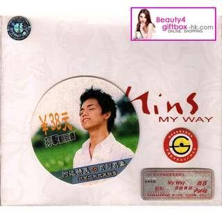 張敬軒HITS 2002首張個人首版大碟《hins MY WAY》限量精裝紀念版CD BOX SET (獨家附送48頁軒仔寫真) 中圖廣州絕版CD BOX SET 100%正版 16年來從未拆封版本 極具收藏價值