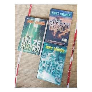 The Maze Runner Trilogy (English)