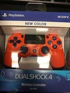 Ps4 Controller orange sunset ds4