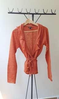 🚚 Burnt Orange Mango Cardigan