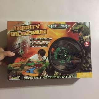 🚚 恐龍公園 直升機遊戲組