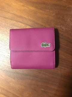 Lacoste Vintage Tennis Wallet