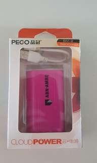 🚚 New in box: powerbank SM-2 5200 mAh; power bank