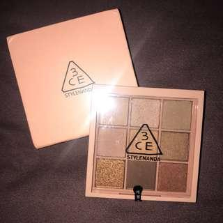 [WTS] 3CE EYESHADOW PALETTE (OVERTAKE)