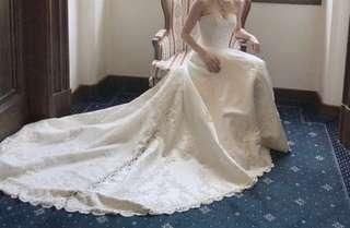 Lace wedding dress 婚紗