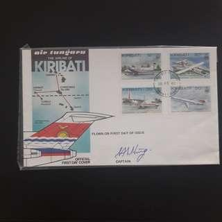 Kiribati  official 1982 First Day Cover