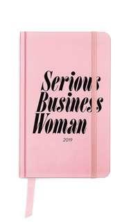 🚚 bando EXCLUSIVE 2019 CLASSIC 12-MONTH ANNUAL PLANNER - SERIOUS BUSINESS WOMAN