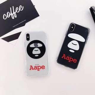 PO: Aape iPhone Case