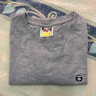 A Bathing Ape grey shirt