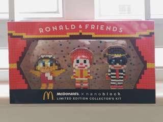 麥當勞 McDonald's nanoblock