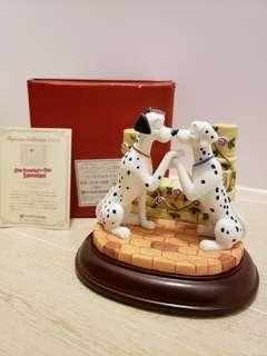 (全新) 日版 Disney 101 斑點狗 101 Dalmatians 陶瓷