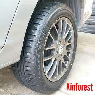 Tyre- Kinforest. Honda Airwave 🙋♂️ It's not a actual price