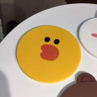 PO: LINE Glass Coaster