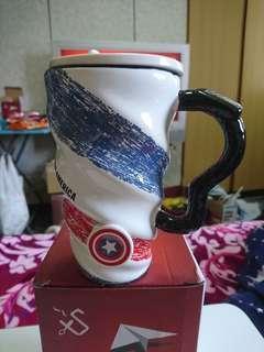 🚚 美國隊長陶瓷杯