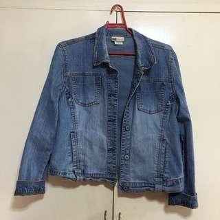 Faded Glory Denim Jacket XL