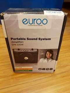 Euroo Portable Amplifier