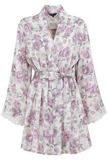 Kimono lingerie silk