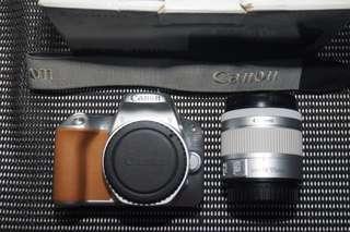 Kamera dslr canon eos 200d fullset