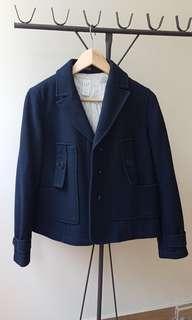 🚚 GAP Navy Woolen Jacket