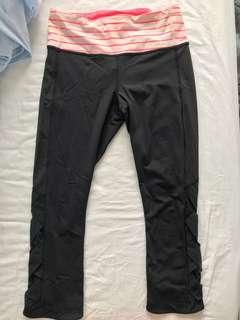 Lululemon leggings 3/4
