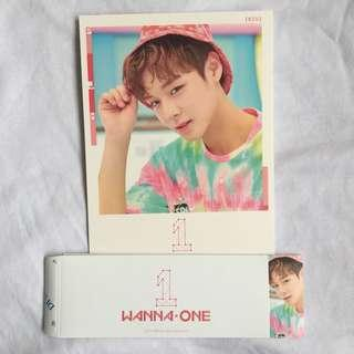 wanna one to be one pink version jihoon cover & sleeve