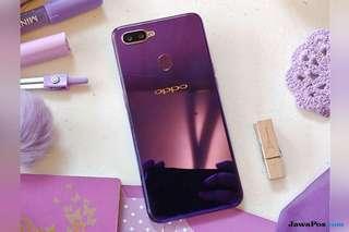 Oppo F9 stary purple