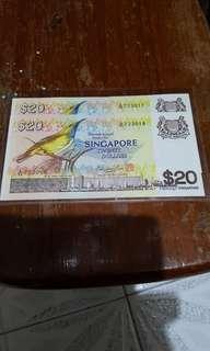20 dollar bird note