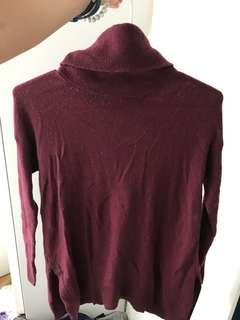 Forever New maroon red jumper