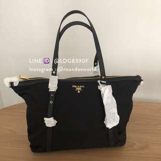 d04c5f486d Prada Tessuto Saffiano Shopping Tote 1BG253