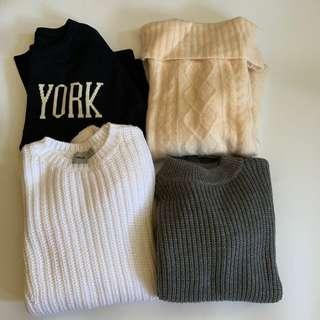 $100 for all sweater