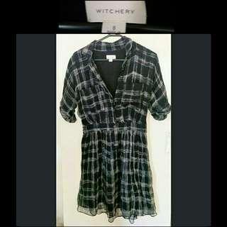 Witchery 8 Silk Dress