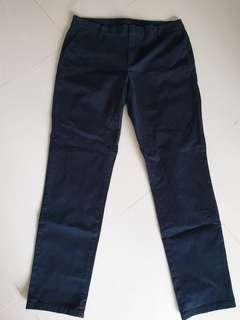 Tommy Hilfiger Navy Blue Lady Pants