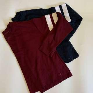 $110for two hollister essential top