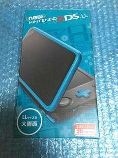 Nintendo new 2DS LL藍色主機 冇改機