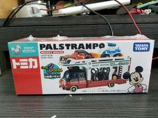 Takara Tomy Tomica  Palstranpo 米奇 Mickey Mouse 迪士尼小汽車 米奇運輸車 PALSTRANPO MICKEY MOUSE (不含小車)