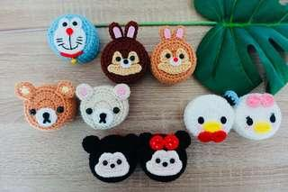 🚚 Tsum Tsum Style Crochet Container