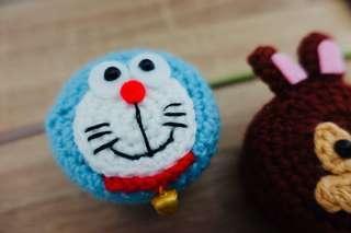 🚚 Doraemon Crochet Mini Container