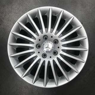 "Used 17"" Original Mercedes Rims"