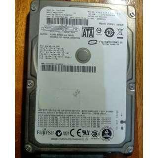 🚚 富士通 FUJITSU 160G 2.5吋 筆記型硬碟
