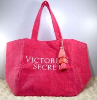Victoria's Secret Special Edition Pink Towel Fabric Tote Bag-Pink