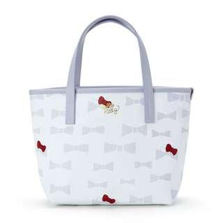 2cfb240b3721  PO  Sanrio Japan Hello Kitty Plune Tote Bag S Ivory