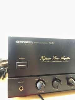 PIONEER Reference Stereo Amplifier A-757