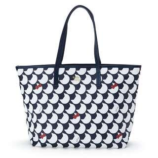 d69740dc64bd  PO  Sanrio Japan Hello Kitty Plune Tote Bag L Navy