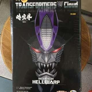 Transformers Cloud Hellwarp Decepticon