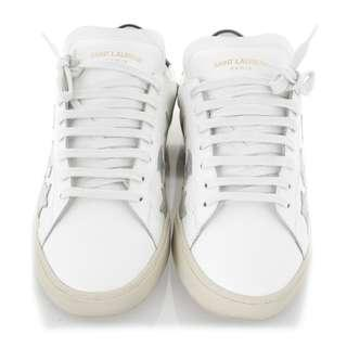 Saint Laurent Star Patched Sneakers