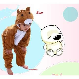 🚚 INSTOCK New Arrival Animal Design Costumes*Bear*Lion* for Halloween, Brthday or Christmas Party
